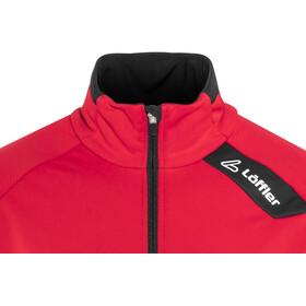 Löffler WS Warm Softshell Bike Jacke Herren 1 Rot